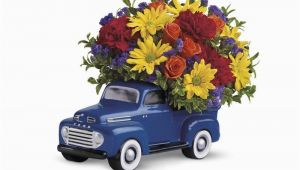 Birthday Flowers for Man Teleflora 39 S 39 48 ford Pickup Bouquet T25 1a 51 26