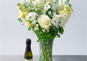 Birthday Flowers Gift Set Prosecco Luxury Bunches