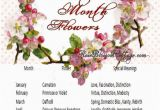 Birthday Flowers Meaning Birth Flowers and Meanings Sweet Ideas Pinterest