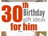 Birthday Gift Card Ideas for Him Sentimental 30th Birthday Gift Ideas for Him Gift Ftempo