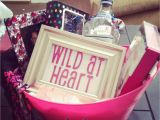 Birthday Gift Experiences for Her Diy Wild at Heart Gift Basket