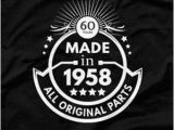 Birthday Gift for Male 60th 60th Birthday Gift for Man 60th Birthday T Shirt Born In