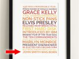 Birthday Gift for Male 60th Make A Poster Personalized 60th Birthday Gift Homemade