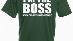 Birthday Gift for Male Boss In India I M the Boss when the Wifes Not Around Funny Gift Ideas