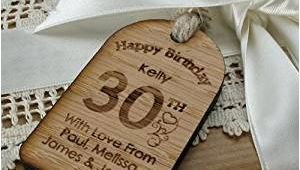 Birthday Gift Him 30th Personalised 30th Birthday Gift 30th Birthday Gift for