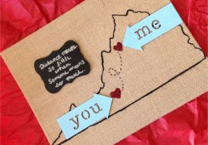 Birthday Gift Ideas for Boyfriend Cheap I 39 M In A Long Distance Relationship I Made This for My