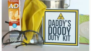 Birthday Gift Ideas for Daddy From Baby Funny Baby Shower Gift Daddy Doody Duty Kit A Girl and