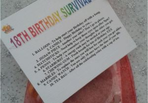 Birthday Gift Ideas For Her 18th Survival Kit Fun Unusual Novelty Present