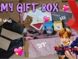 Birthday Gift Ideas for Him 23rd Diy Army Gift Box Bts Gift Ideas Youtube