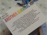 Birthday Gift Ideas for Him Brother Brother Survival Kit Novelty Keepsake Christmas Birthday