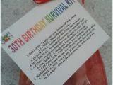 Birthday Gift Ideas for Him Dubai 30th Birthday Survival Kit Fun Unusual Novelty Present