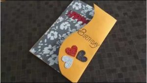 Birthday Gift Ideas for Husband Handmade Beautiful Handmade Birthday Card Idea for Wife Complete
