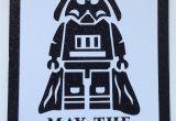 Birthday Gift Ideas for Husband Turning 40 Star Wars 40th Birthday Card 40 Bd Party Birth