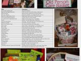 Birthday Gifts for 25 Year Old Male 30th or 40th Birthday Gift Old Person Care Basket