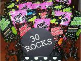 Birthday Gifts for 30 Year Old Husband 30 Rocks Happy 30th Birthday Appreciation Gifts