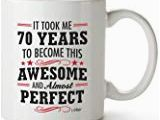 Birthday Gifts for 40 Year Old Man Amazon Com 70th Birthday Gag Gifts for Men Funny Mugs