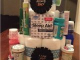 Birthday Gifts for 50 Year Old Husband Over the Hill Diaper Cake Get Caked Up 60th Birthday
