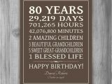 Birthday Gifts for 80 Years Old Man Image Result for Ideas for 80th Birthday Party for Mom
