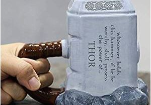 Birthday Gifts for Boyfriend India Buy Bonzeal Thor Mug Hammer Shaped Ceramic Coffee Mugs Tea
