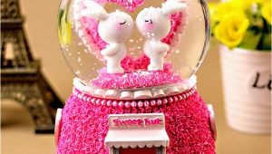 Birthday Gifts for Boyfriend Online Crystal Ball Music Box Manualidades Creative Birthday Gift