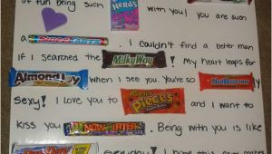 Birthday Gifts for Boyfriend south Africa Candy Bar Poster Ideas with Clever Sayings