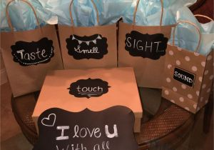 Birthday Gifts for Boyfriend Under 700 I Love You with All Of My Senses My Version for My