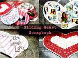 Birthday Gifts for Boyfriend Unique Sliding Heart Unique Scrapbooking Idea Birthday Gift