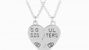 Birthday Gifts for Close Friends Aliexpress Com Buy soul Sisters Pendant Necklace Gift