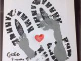 Birthday Gifts for Daddy From Baby Boy King Of the Grill Handprint Craft for Fathers Day