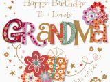 Birthday Gifts for Grandma From Grandson Lovely Grandma Happy Birthday Greeting Card Cards
