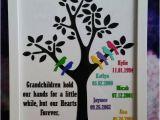 Birthday Gifts for Great Grandma Grandparent Family Tree Frame 6 Grandchildren Custom