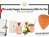 Birthday Gifts for Him 25 26 Lovely Copper Anniversary Gifts for Him 25 is Such A