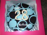 Birthday Gifts for Him 28th Tanya 39 S 28th Birthday Cake Crowncakeco Birthday Cake