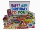 Birthday Gifts for Him 65 Woodstock Candy Blog 65th Birthday Gifts Can Be so Sweet