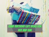 Birthday Gifts for Him and Her 22nd Birthday Gift Ideas for Her and Him Birthday Monster