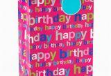 Birthday Gifts for Him at Walmart American Greetings Jumbo Happy Birthday Pink Gift Bag