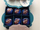 Birthday Gifts for Him Brisbane Thank You Chocolate Gift Box Using Label Framelits Ann