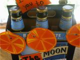 Birthday Gifts for Him Chicago to the Moon and Back