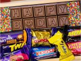 Birthday Gifts for Him Delivered Personalised Birthday Chocolates Birthday Gifts