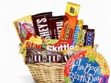 Birthday Gifts for Him Delivery Usa Oh My Happy Birthday Candy Basket at Send Flowers