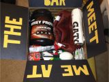 Birthday Gifts for Him Gym Gym themed Care Package Filled with Whey Protein Powder