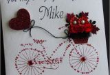 Birthday Gifts for Him Handmade Handmade Card Greeting Personalised Bike Love Handmade