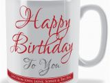 Birthday Gifts for Him In Store Send Personalized Gifts Happy Birthday Mug Gift to
