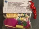 Birthday Gifts for Him In Uk 30th Birthday Survival Kit Birthday Gift 30th Present for
