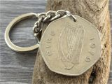 Birthday Gifts for Him Ireland 39th Birthday Gift for Him 1979 Irish Coin Keychain St