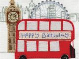 Birthday Gifts for Him London Happy Birthday Embroidered London Gorgeous 3 25 A