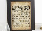 Birthday Gifts for Him Uk 50th Birthday Gifts Present Ideas for Men Chatterbox Walls