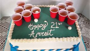 Birthday Gifts for Him Vancouver Beer Pong Cake Diana 39 S Dreamcakes Baking Ideas