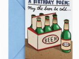 Birthday Gifts for Him Walmart Hallmark Shoebox Funny Birthday Card Cold Beers