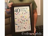 Birthday Gifts for Husband 2019 40th Birthday Gift for Man 40th Birthday Gifts for